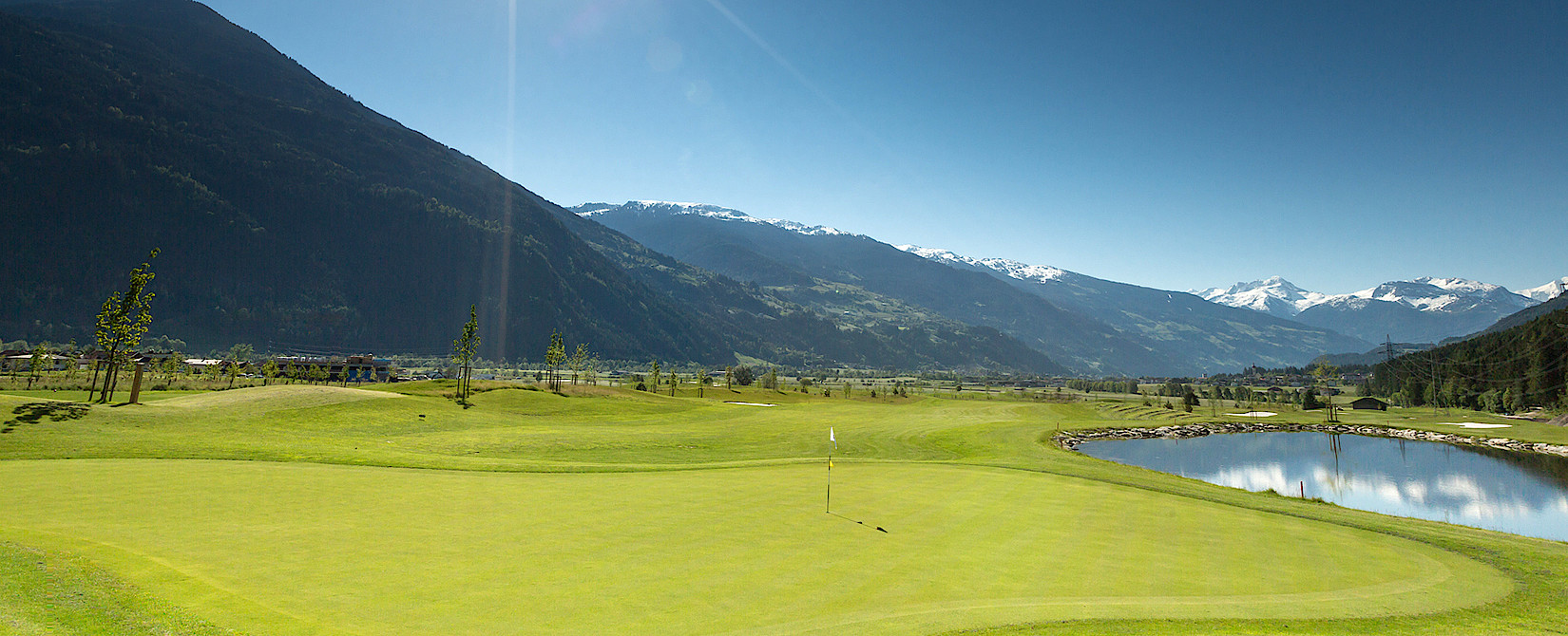 Golfing hotel in the Zillertal Valley