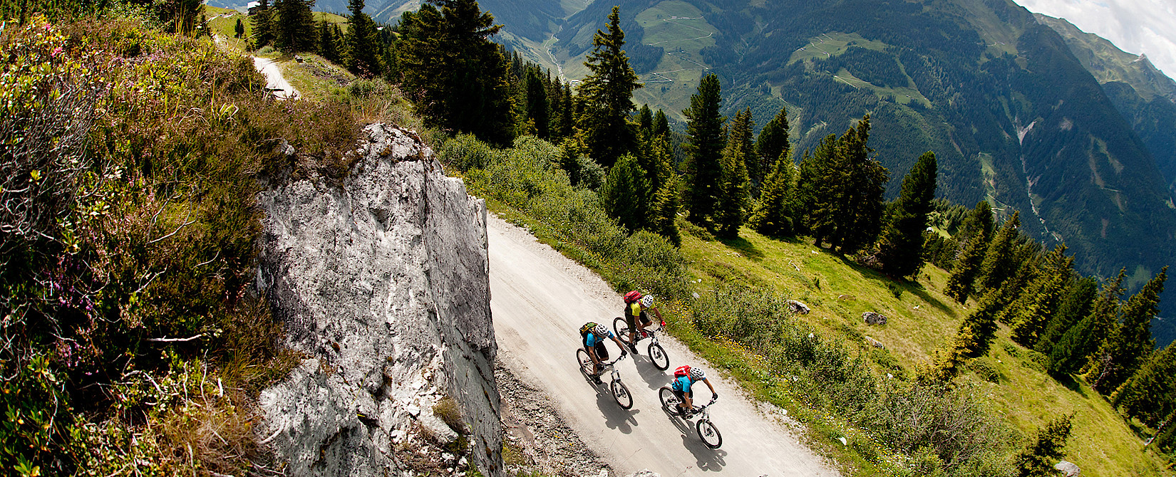 Biking holiday in the Zillertal Valley